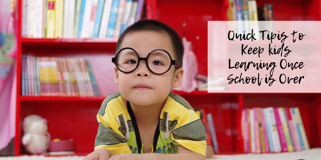 The schoolyear is almost over -- which means it's time for things like vacations and summer fun. But let's not let all of that education go to waste! Here are a few things to do so you can keep your kids learning all summer long.