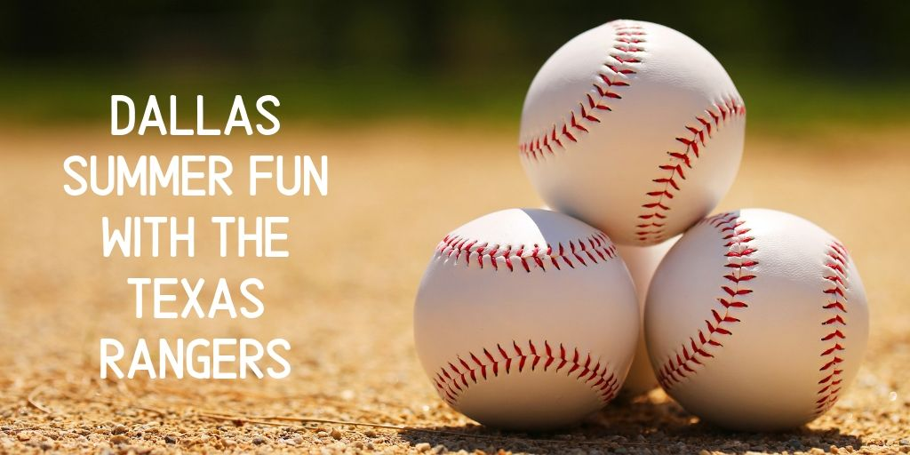 Looking for an all American summer activity? Check out a Texas Rangers game! Every game features something a little special, from evening fireworks to dollar ice cream and hot dogs to bobblehead giveaways, there's always something extra for everyone!